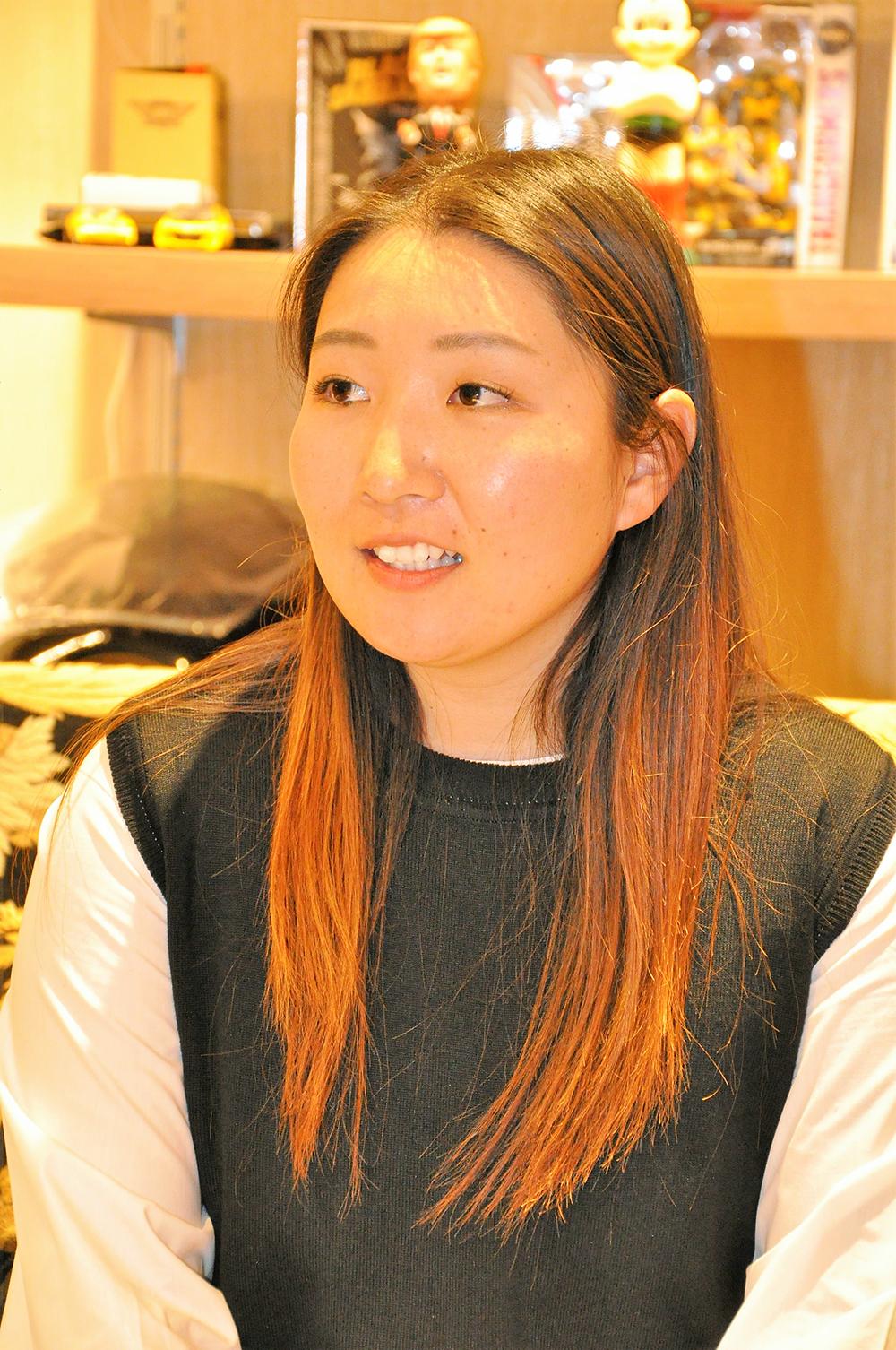 高橋亜可里選手